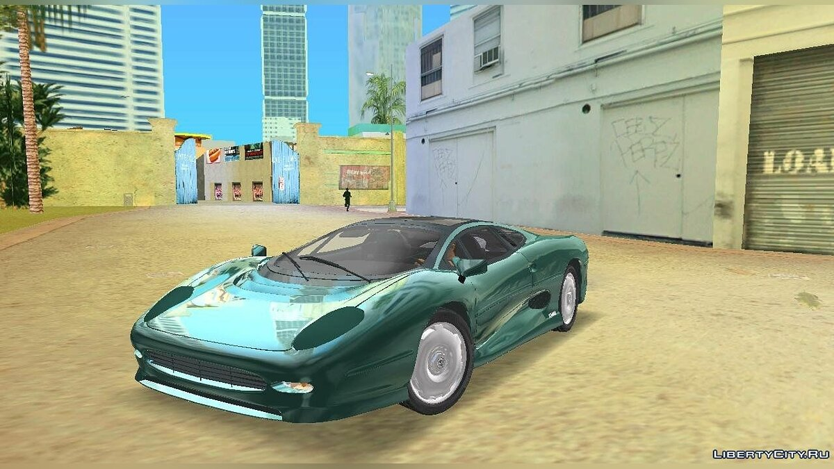 Машина Jaguar XJ220 для GTA Vice City