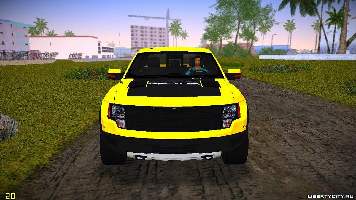 Ford F-150 SVT Raptor для GTA Vice City - скриншот #4