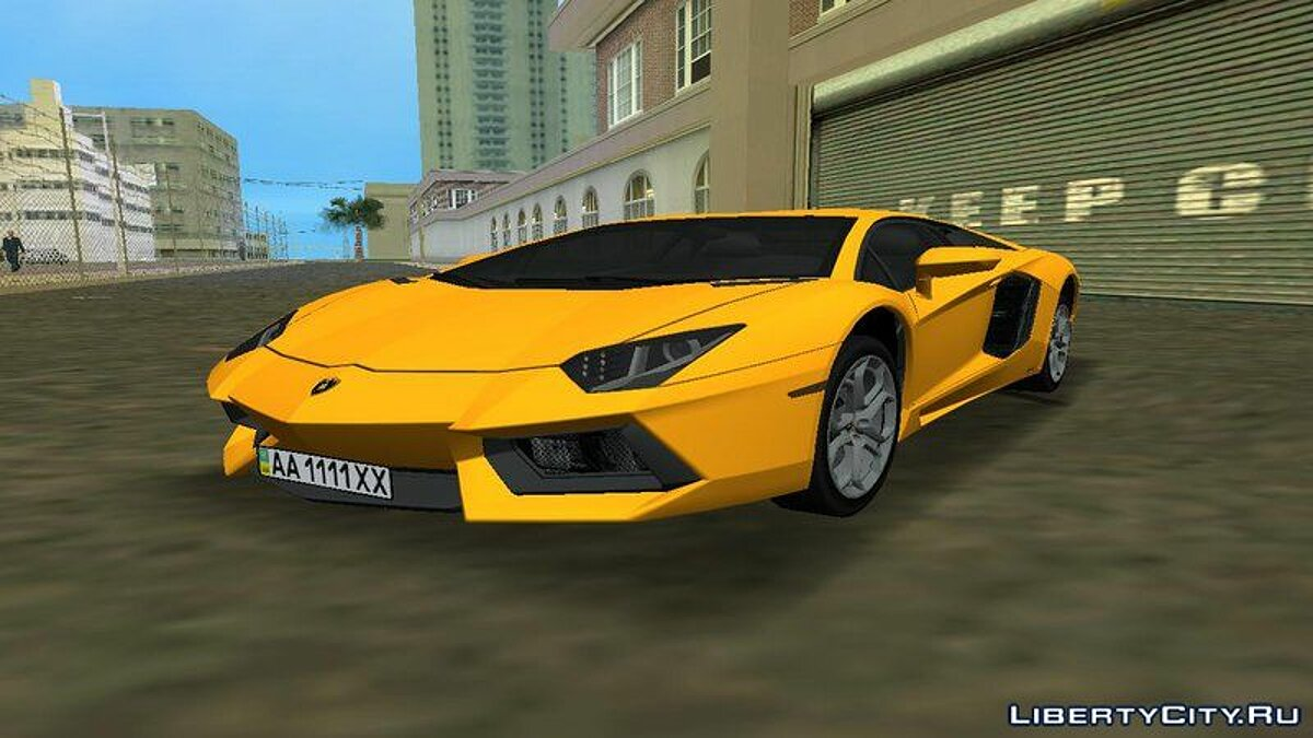 Lamborghini Aventador LP700 для GTA Vice City