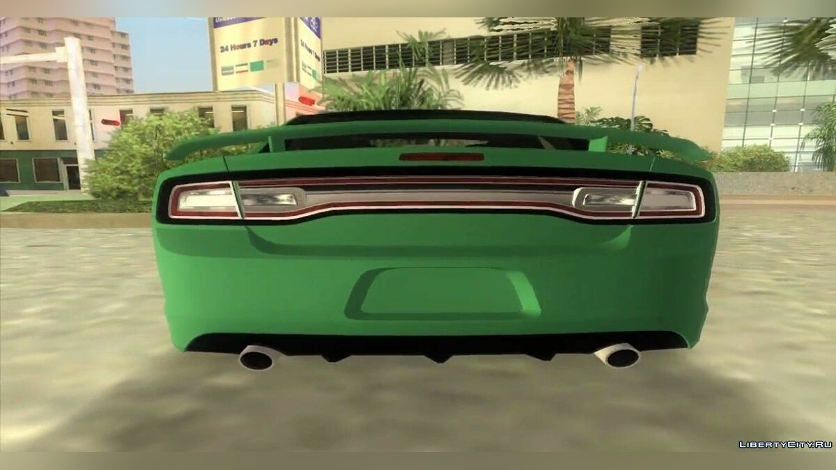 Dodge Charger Juiced TT Black Revel для GTA Vice City - скриншот #2
