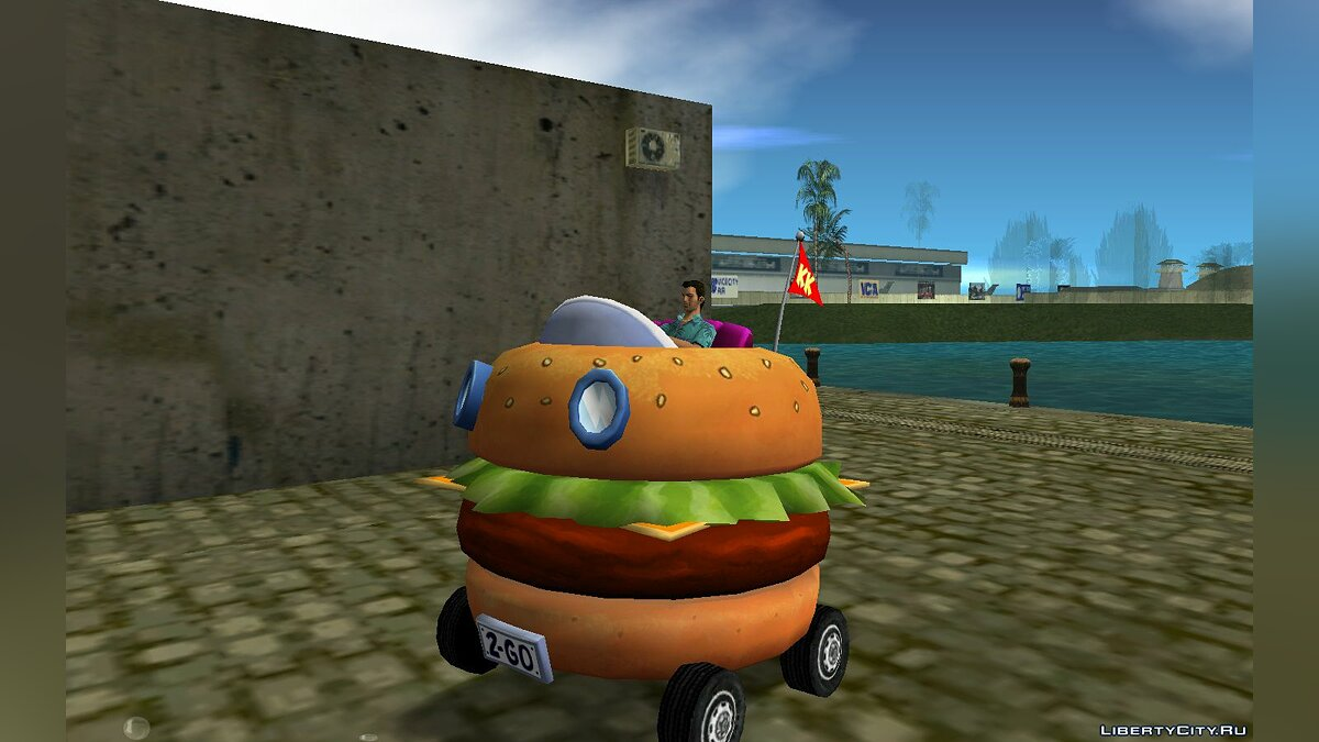 Patty Wagon from Nick Racers Revolution для GTA Vice City