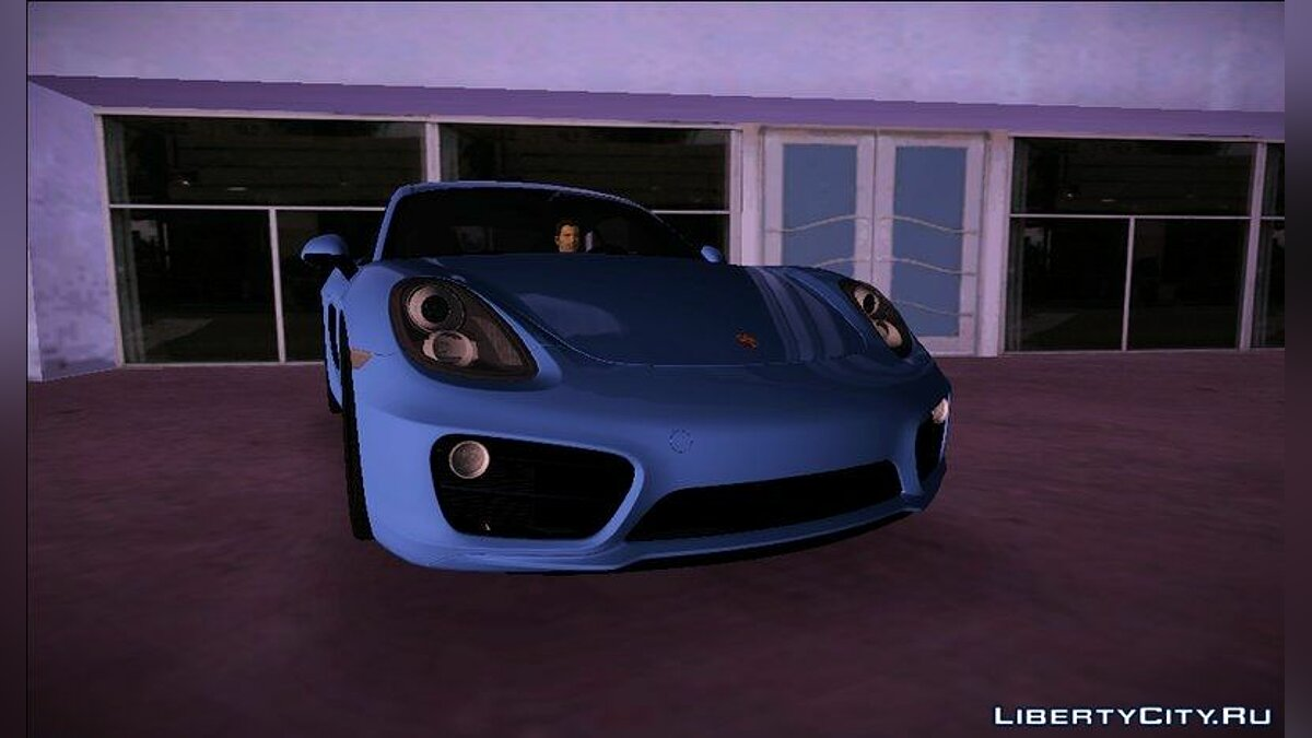 Porsche Cayman S 2014 для GTA Vice City