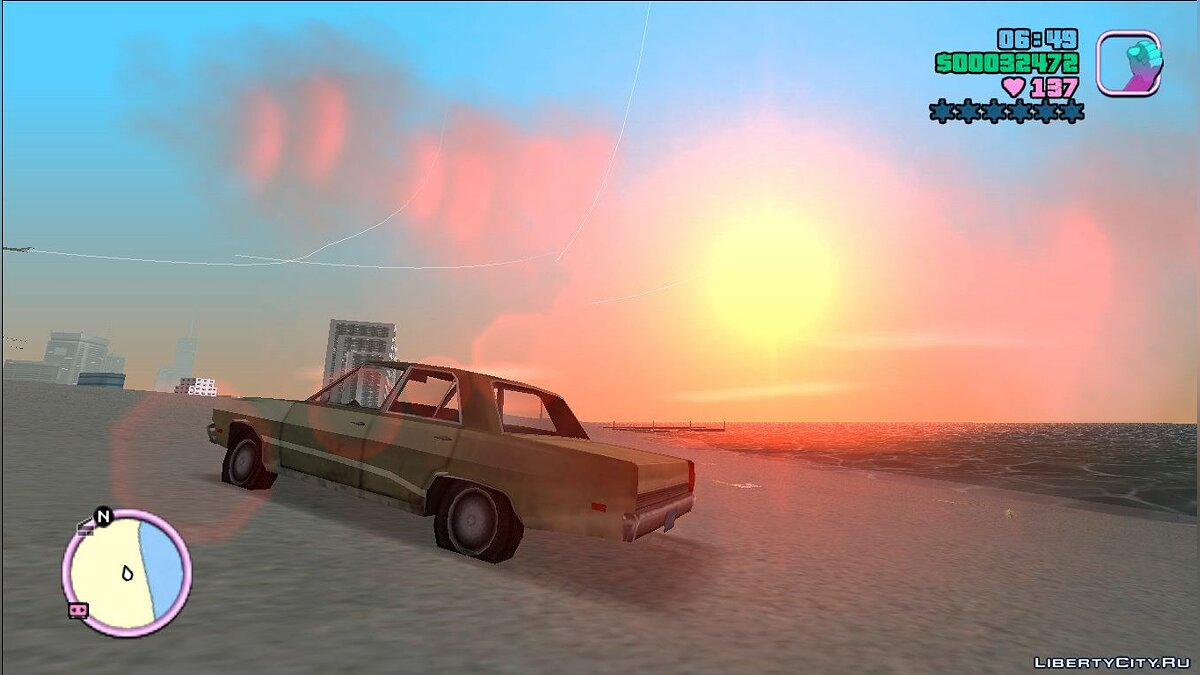 Plymouth Valiant для GTA Vice City - скриншот #2