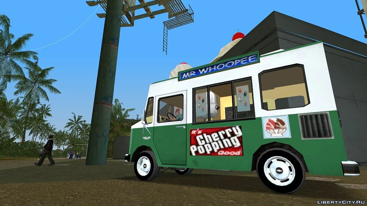 "Chevrolet Forvard Control 20 ""Ice Cream"" для GTA Vice City - скриншот #5"