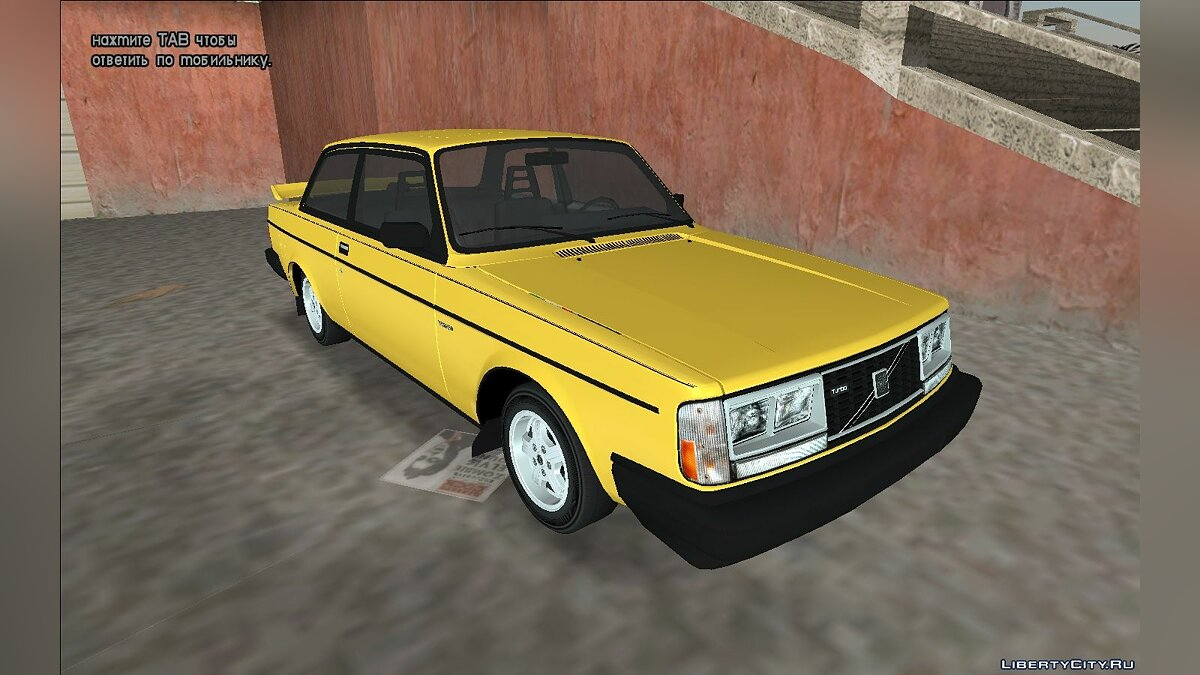 1982 Volvo 242 Turbo для GTA Vice City - Картинка #1