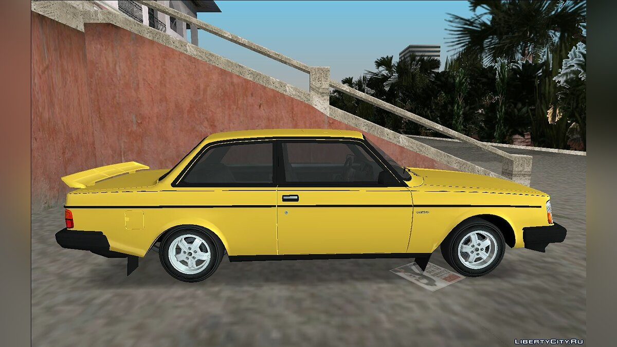 1982 Volvo 242 Turbo для GTA Vice City - Картинка #3