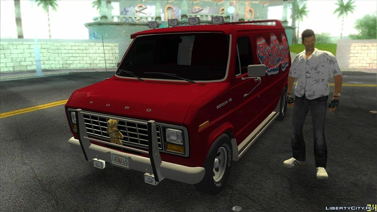 Ford E-150 Gang Burrito для GTA Vice City