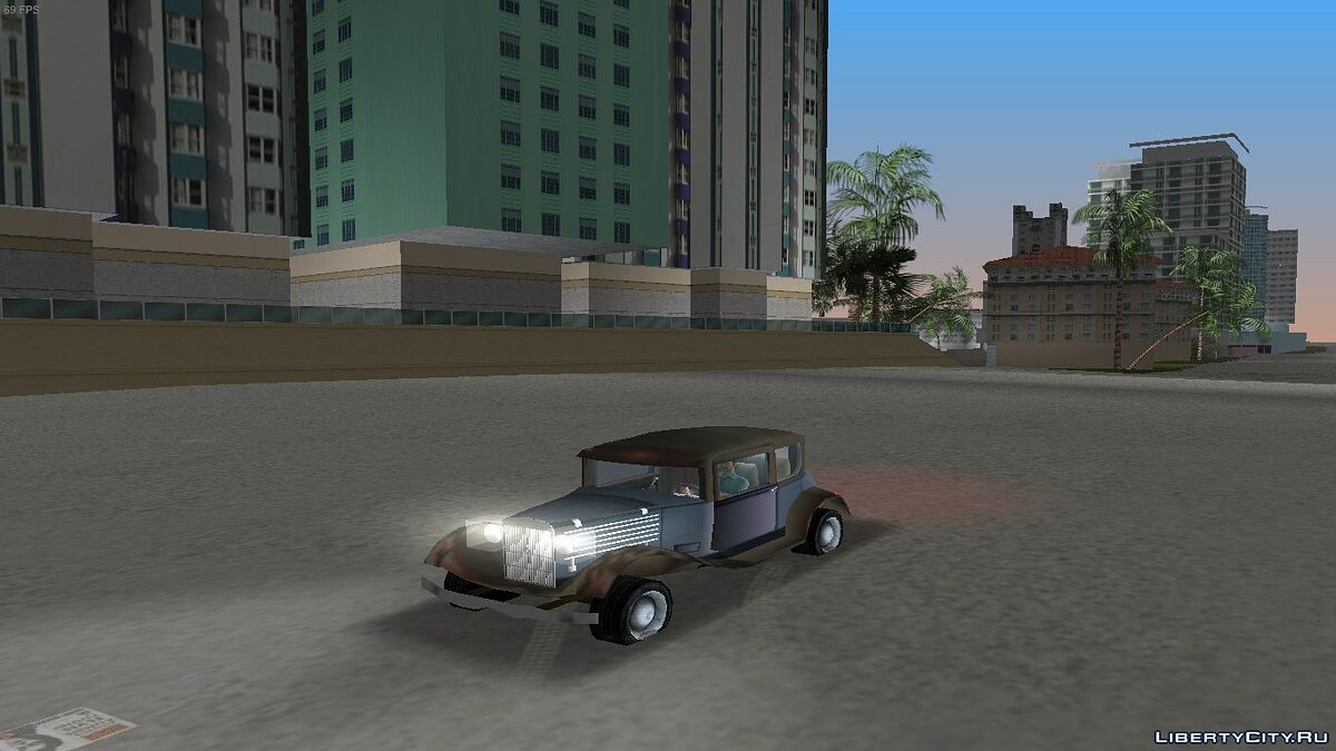 Bolt Model B Tudor для GTA Vice City - Картинка #1
