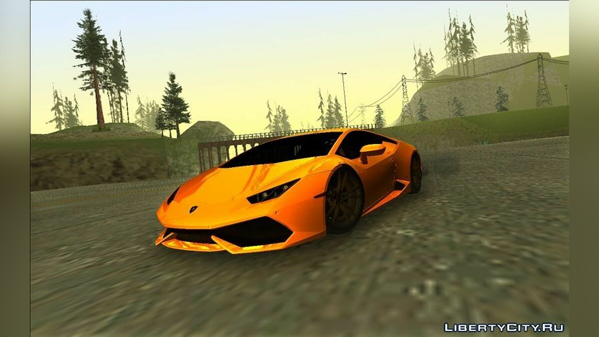 Lamborghini Huracan для GTA Vice City - Картинка #1