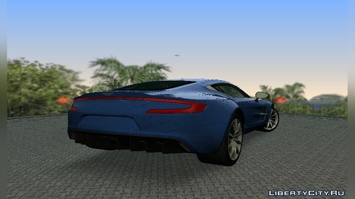 Aston Martin One-77 для GTA Vice City - скриншот #3