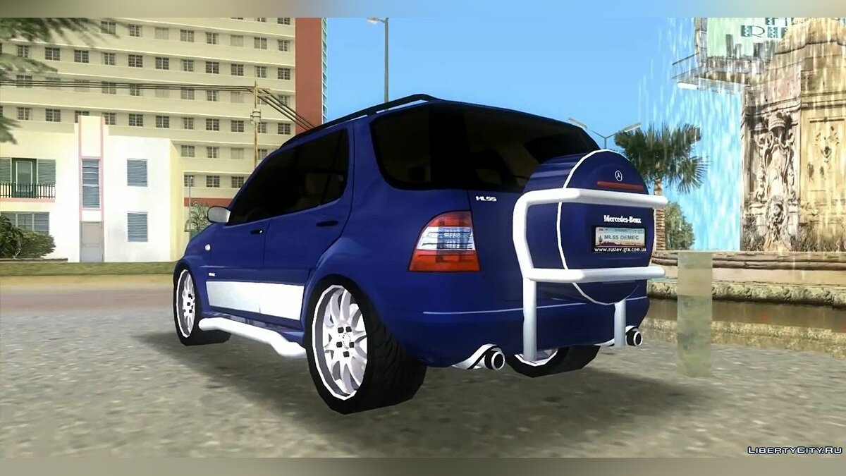 Mercedes-Benz ML55 для GTA Vice City