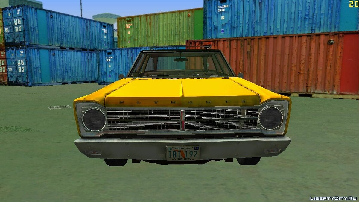 Plymouth Belvedere I Station Wagon 1965 for VC для GTA Vice City - скриншот #3