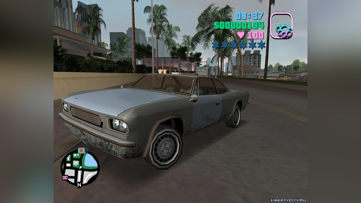 Машина SA Tampa для GTA Vice City для GTA Vice City