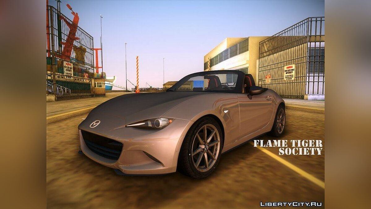 Mazda MX5 Roadster 2015 для GTA Vice City