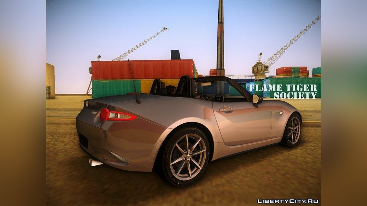 Mazda MX5 Roadster 2015 для GTA Vice City - скриншот #2