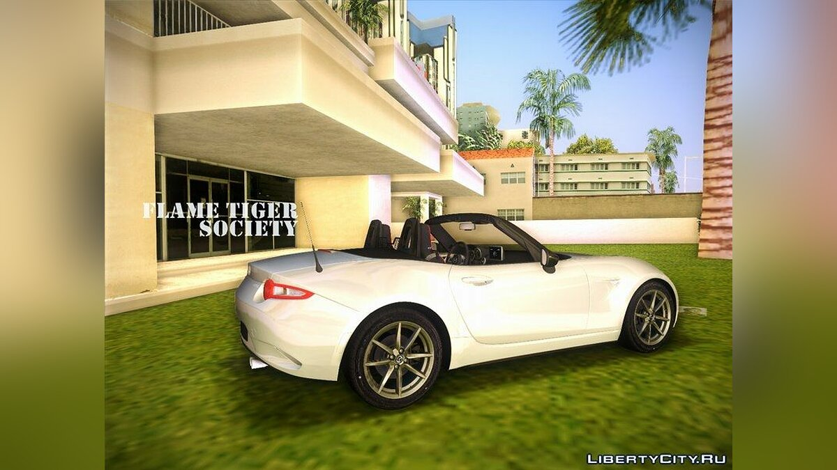 Mazda MX5 Roadster 2015 для GTA Vice City - скриншот #5