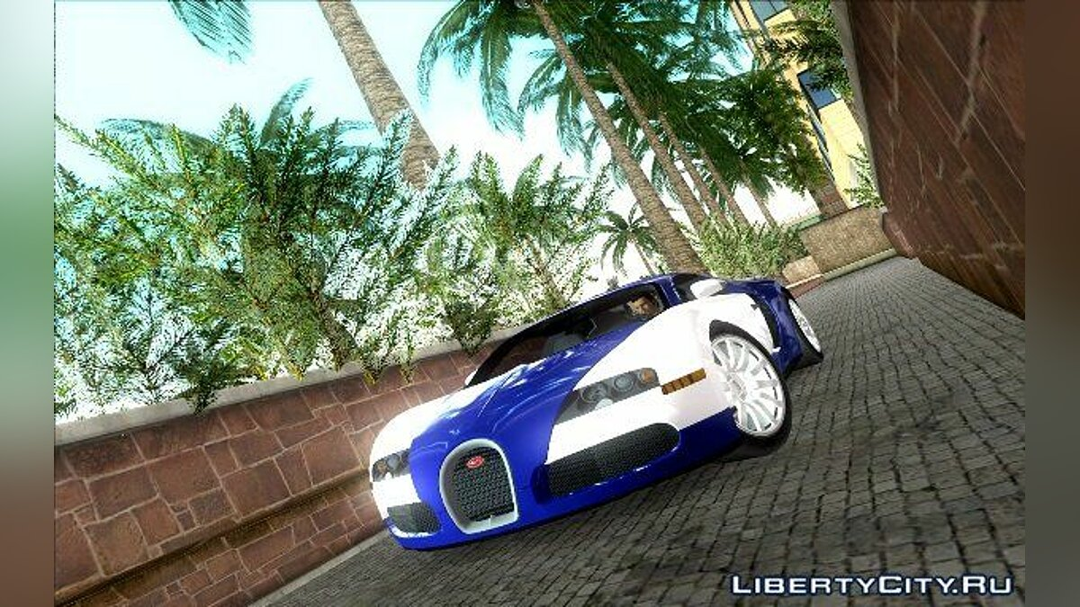Bugatti Veyron для GTA Vice City