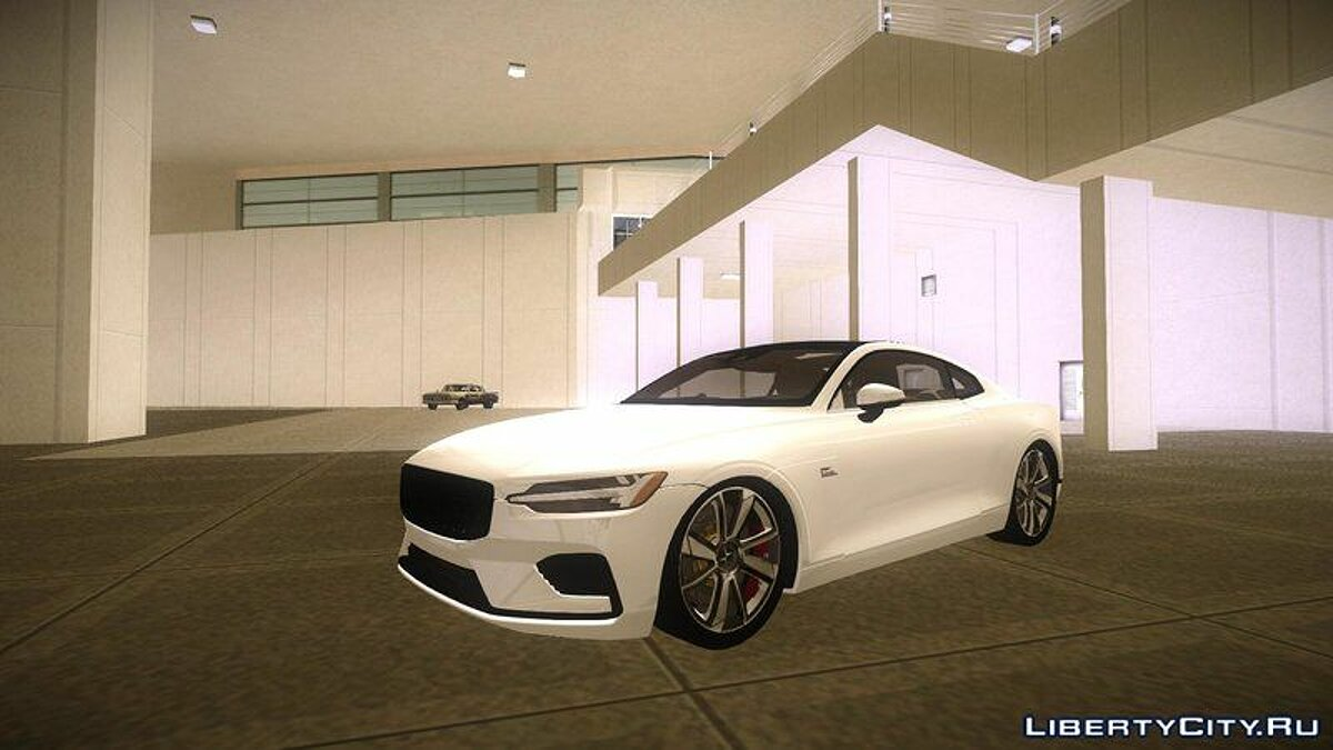 Машина [MVL] Volvo Polestar 1 (2 версии) для GTA Vice City