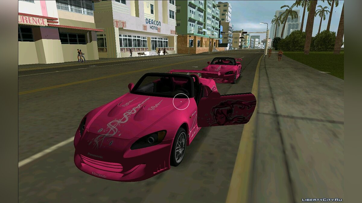 Honda S2000 2F2F для GTA Vice City - Картинка #1