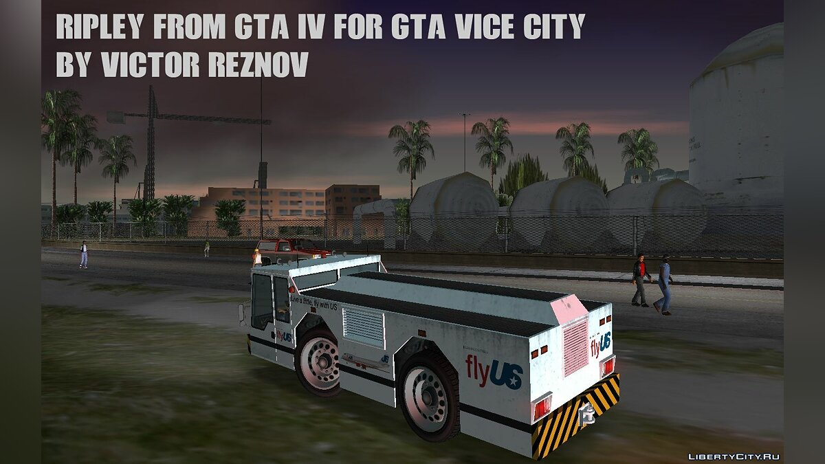 Ripley from GTA IV for GTA Vice City для GTA Vice City - скриншот #2