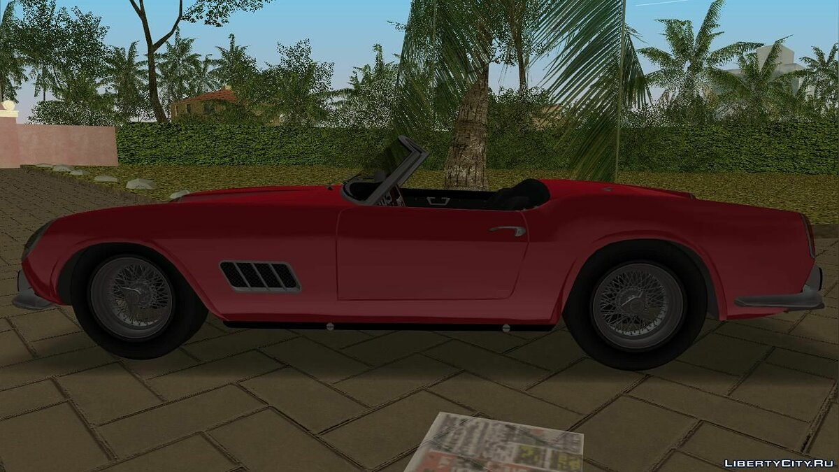 Ferrari 250 California 1963 для GTA Vice City - скриншот #2