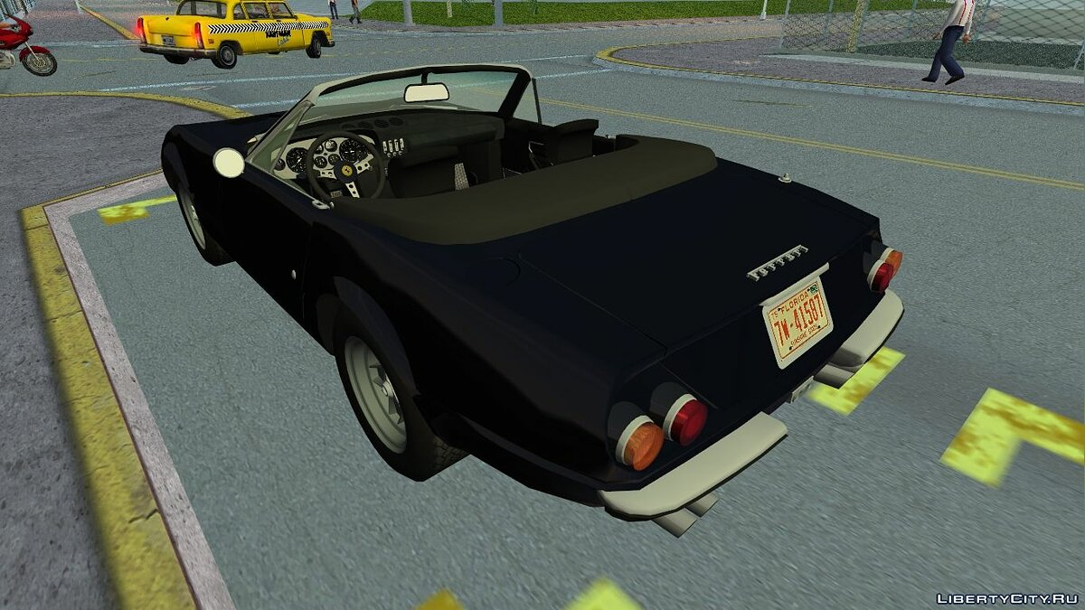 "Ferrari 365 GTS/4 ""Daytona"" 1972 для GTA Vice City - скриншот #6"