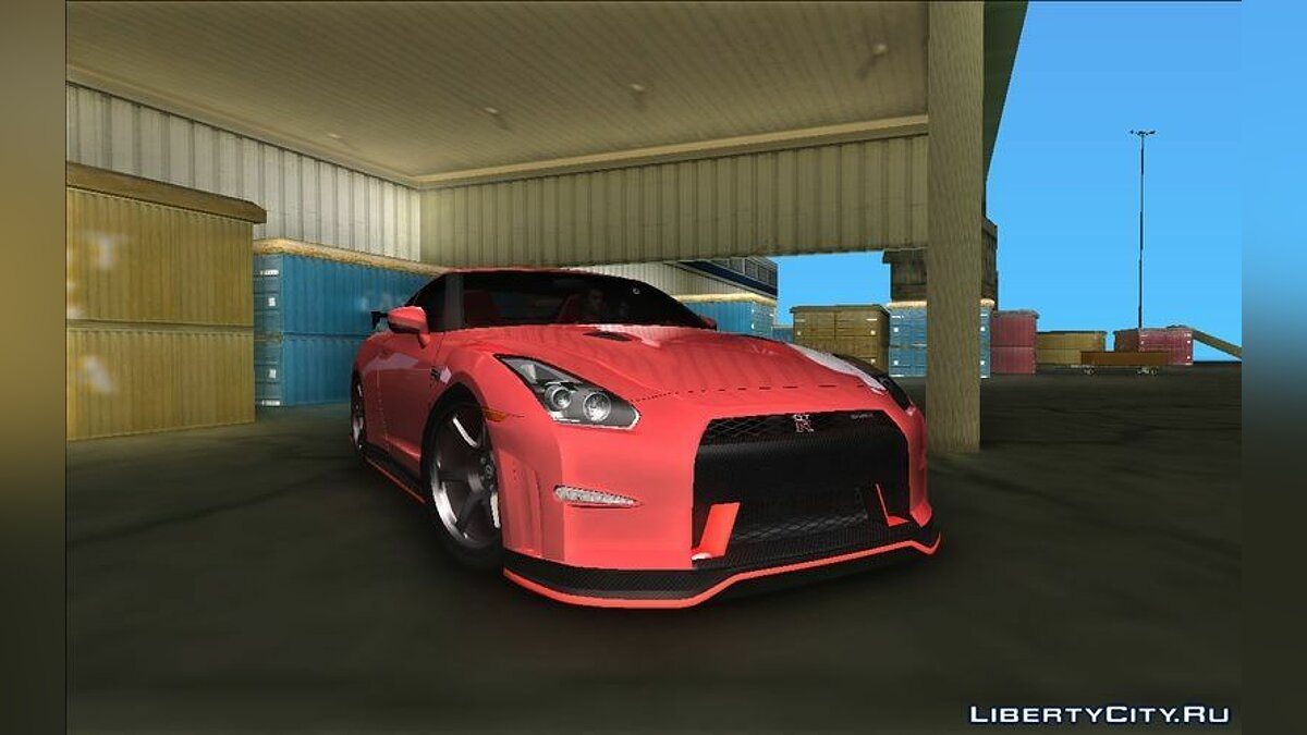 Nissan GTR R35 Nismo для GTA Vice City - скриншот #2