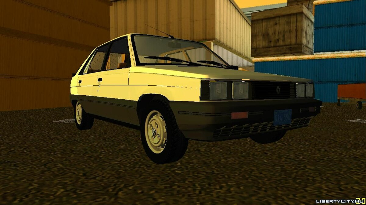 Renault 11 GTL для GTA Vice City