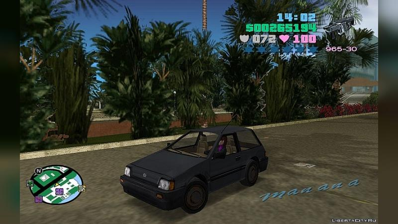 Машина 9 cars from Saints Row 1 для GTA Vice City