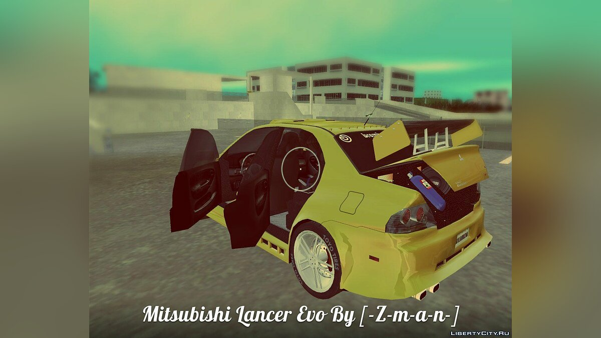 Mitsubishi Lancer Evo  для GTA Vice City - Картинка #4