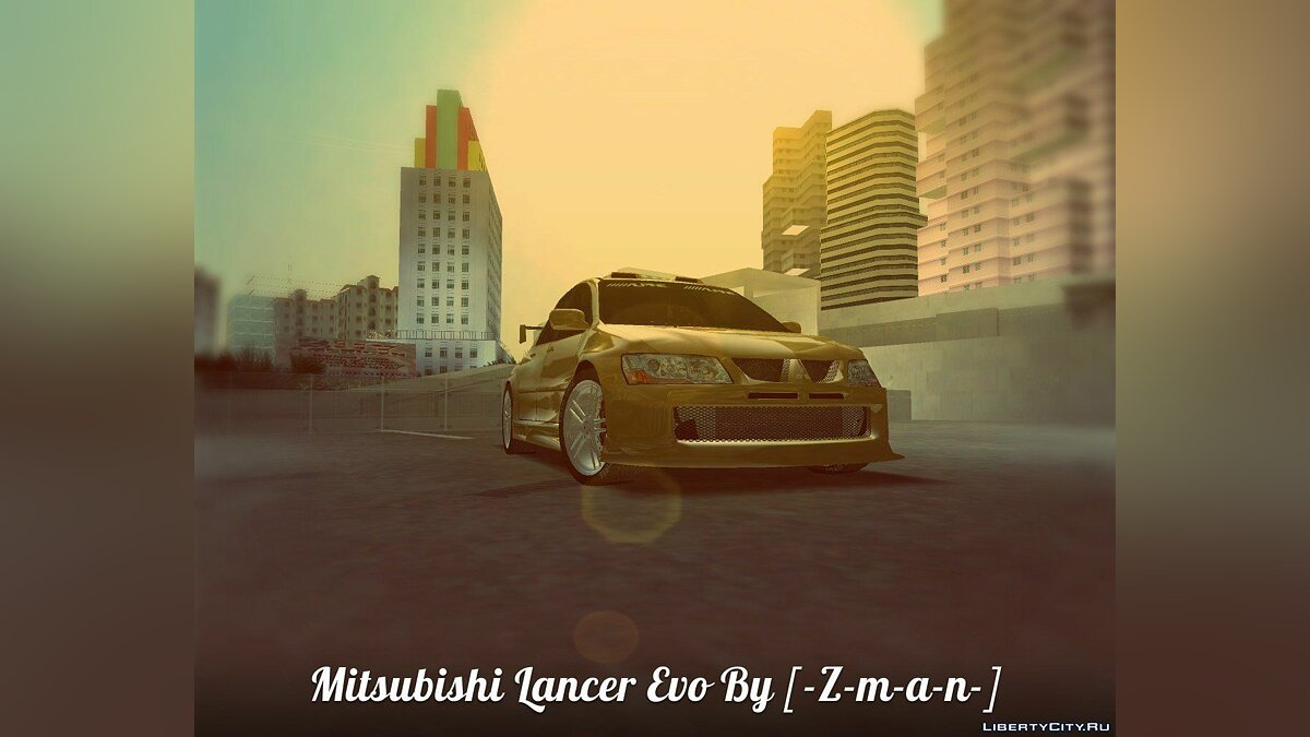 Mitsubishi Lancer Evo  для GTA Vice City - Картинка #3
