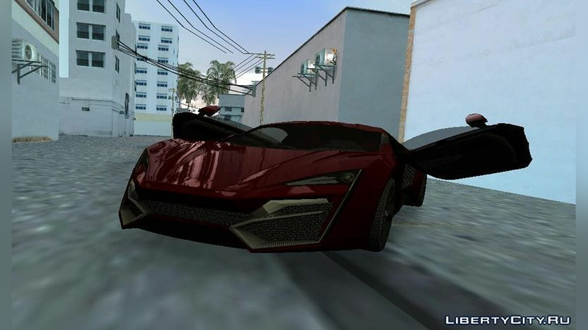 WMotors Lykan HyperSport для GTA Vice City