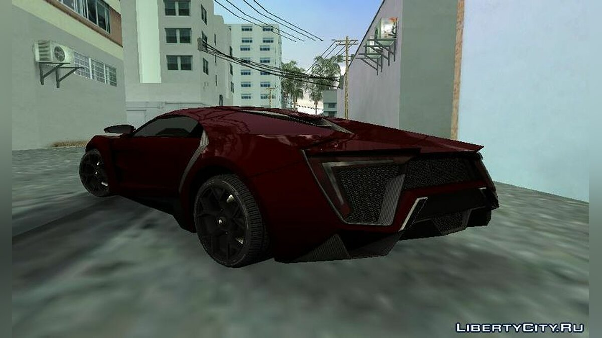 WMotors Lykan HyperSport для GTA Vice City - скриншот #3