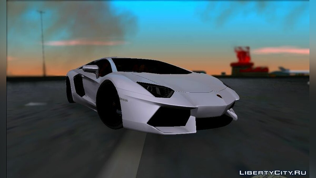Lamborghini Aventador LP700-4 Final для GTA Vice City - Картинка #1