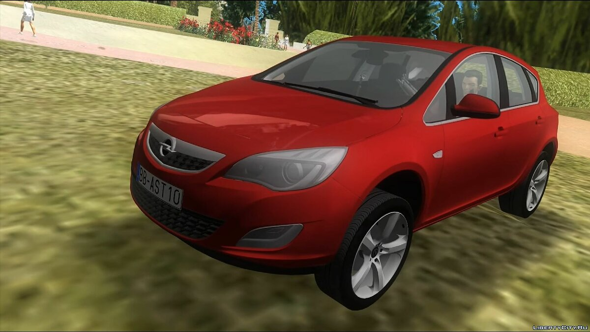 Машина 2011 Opel Astra для GTA Vice City