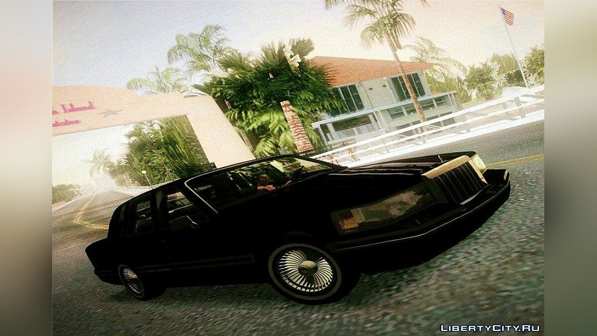 Lincoln Town Car 1991 для GTA Vice City