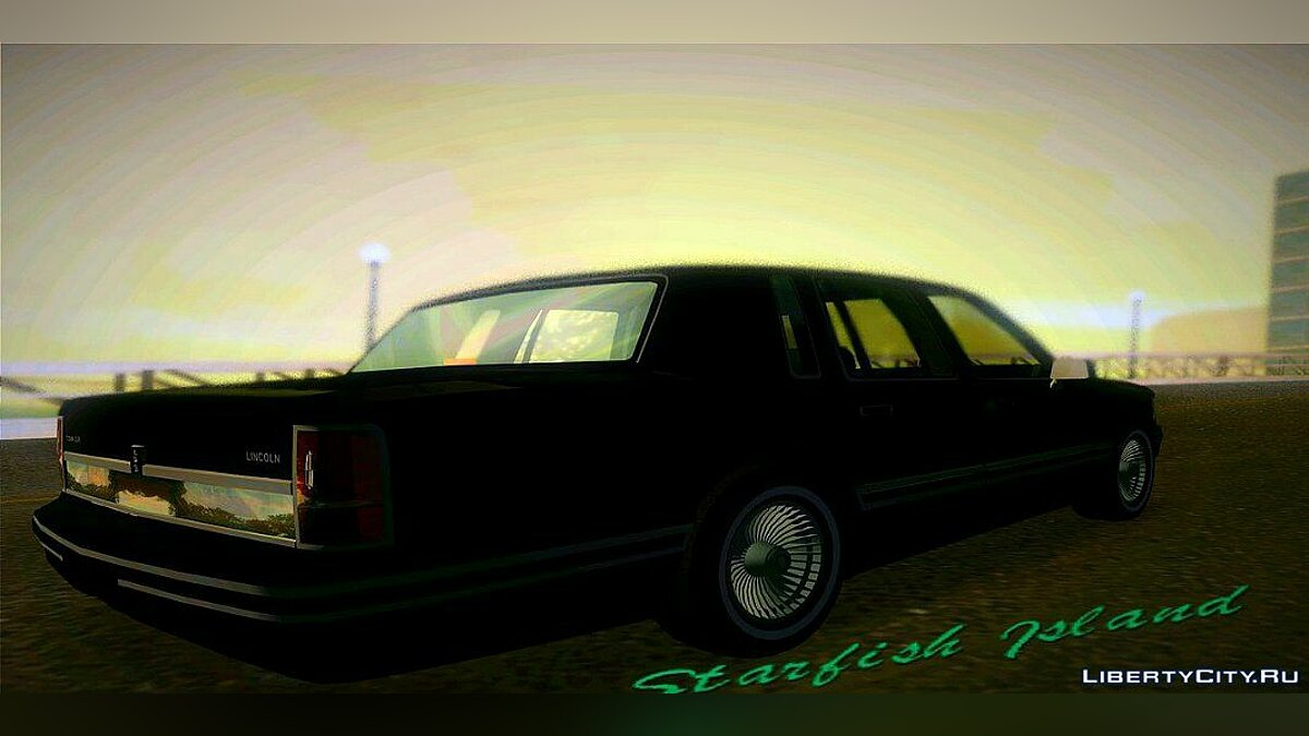 Lincoln Town Car 1991 для GTA Vice City - скриншот #2