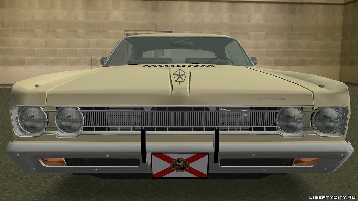 Машина Plymouth Fury III '1969 Coupe для GTA Vice City