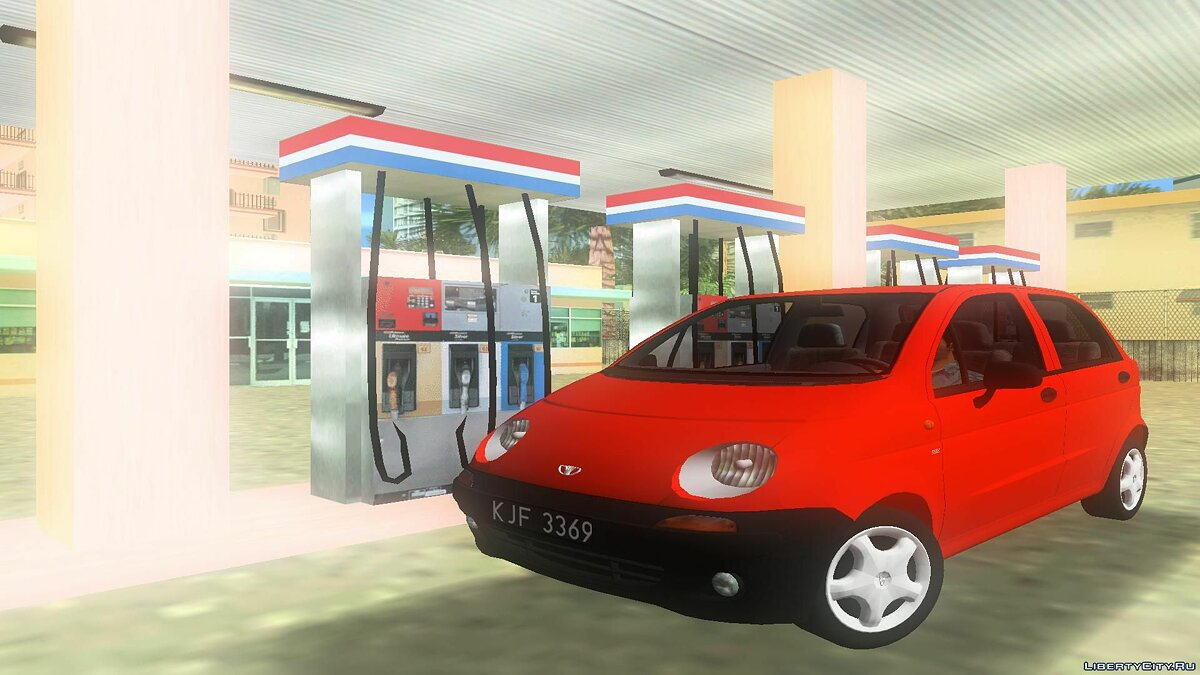 Daewoo Matiz I SE 1998 для GTA Vice City - Картинка #1