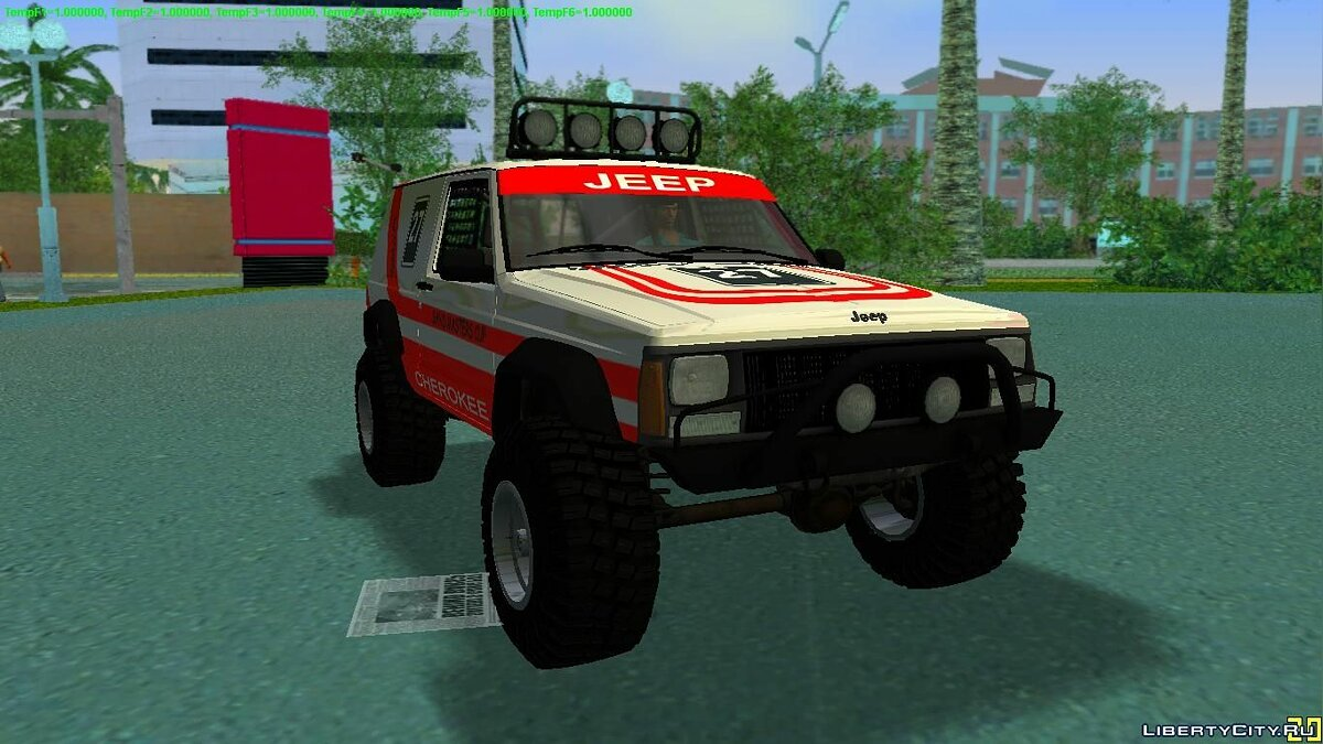 "Jeep Cherokee 1984 ""Sandking"" для GTA Vice City"