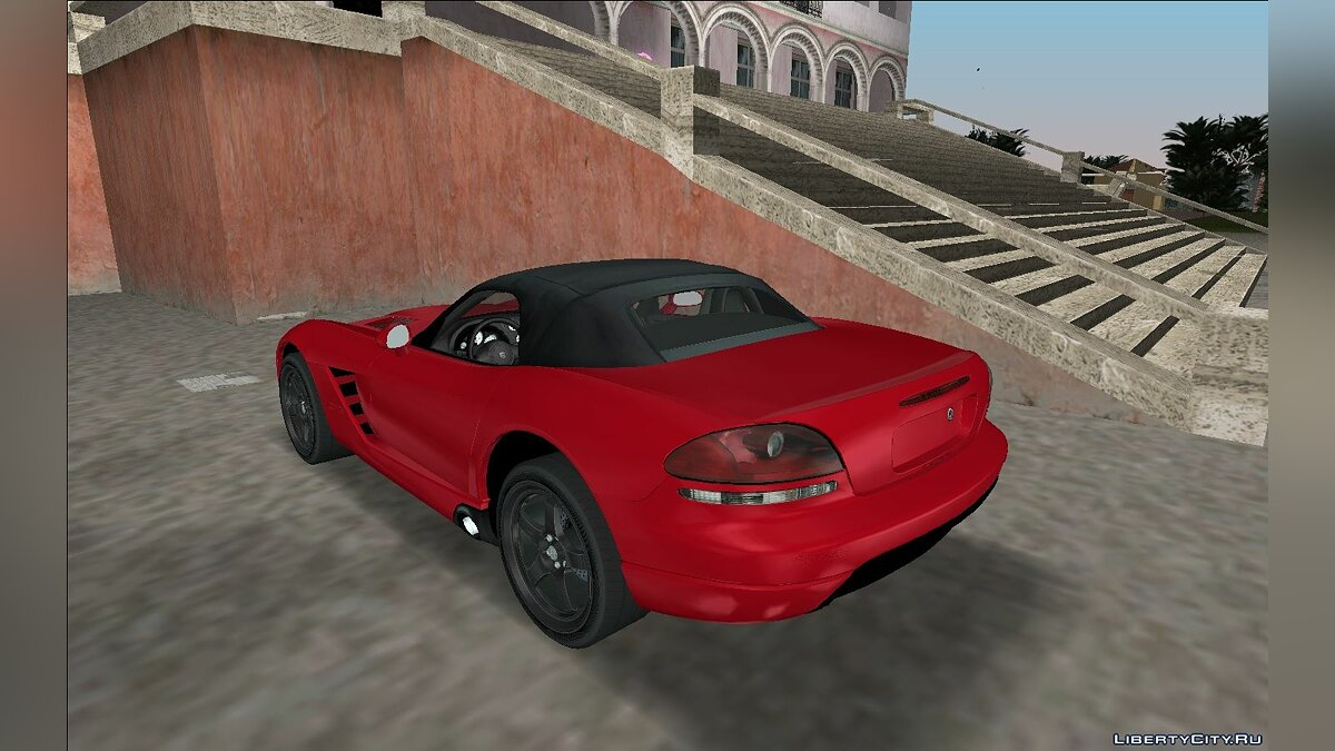 Dodge Viper SRT-10 Roadster TT Black Revel для GTA Vice City - Картинка #2