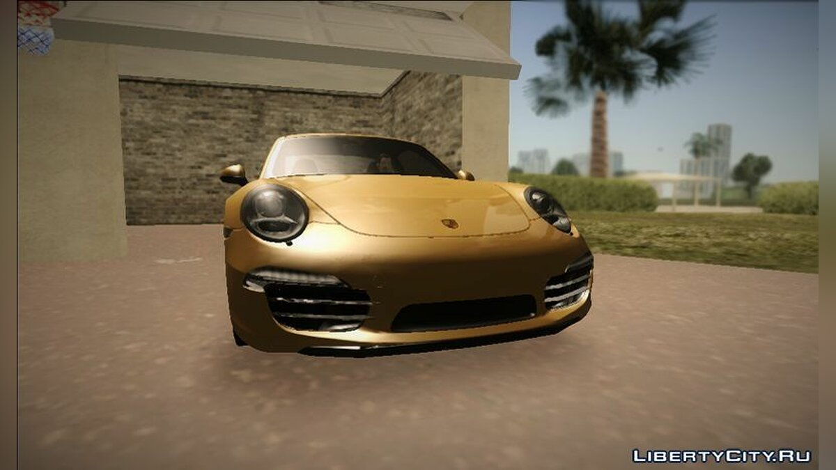 Porsche 911 (991) Carrera S для GTA Vice City - скриншот #2