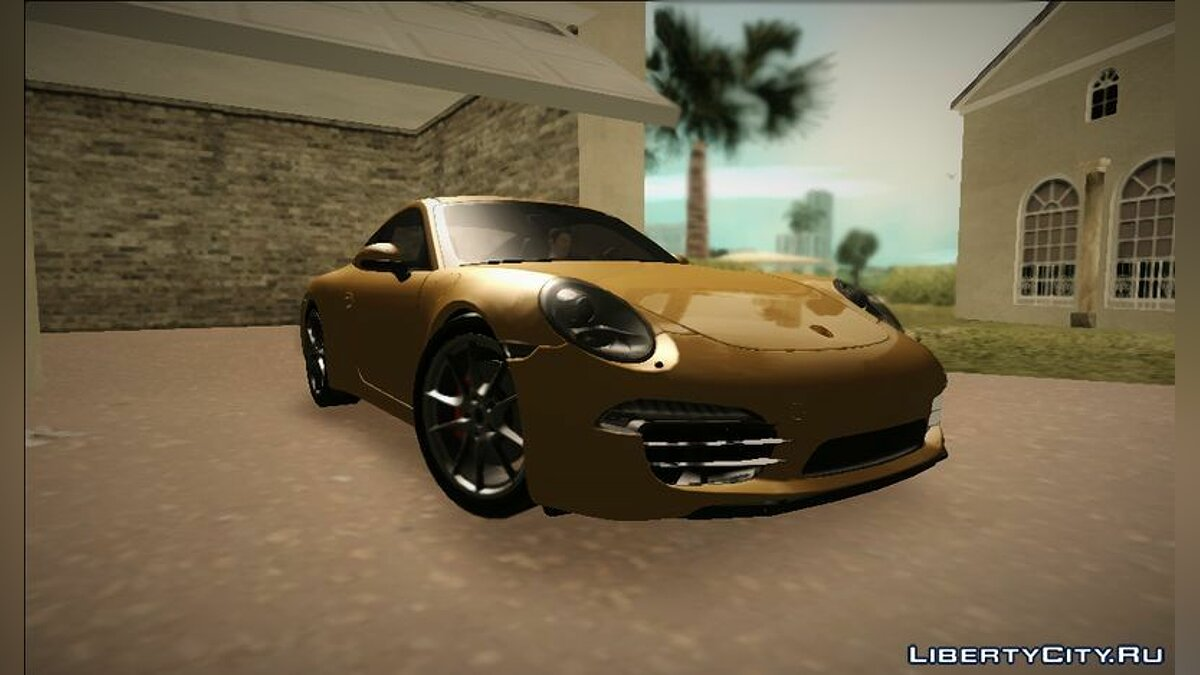Porsche 911 (991) Carrera S для GTA Vice City