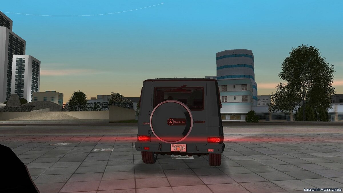 Машина Mercedes-Benz G500 (W463) 2008 для GTA Vice City