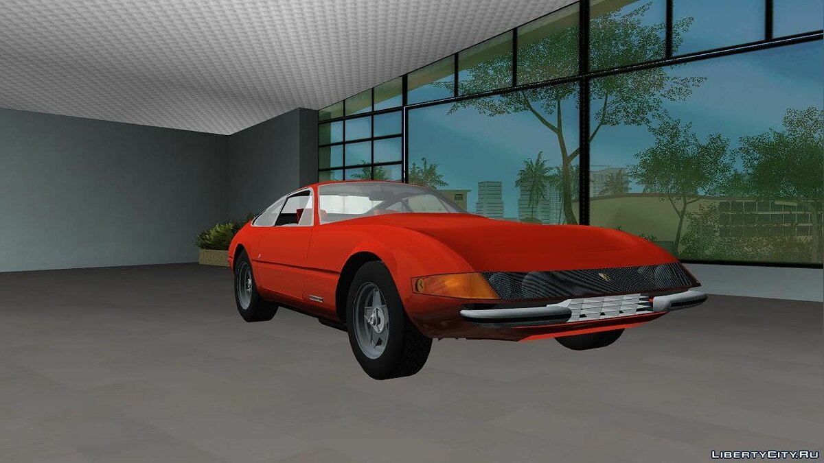 "Ferrari 365 GTB/4 ""Daytona"" 1968 для GTA Vice City"