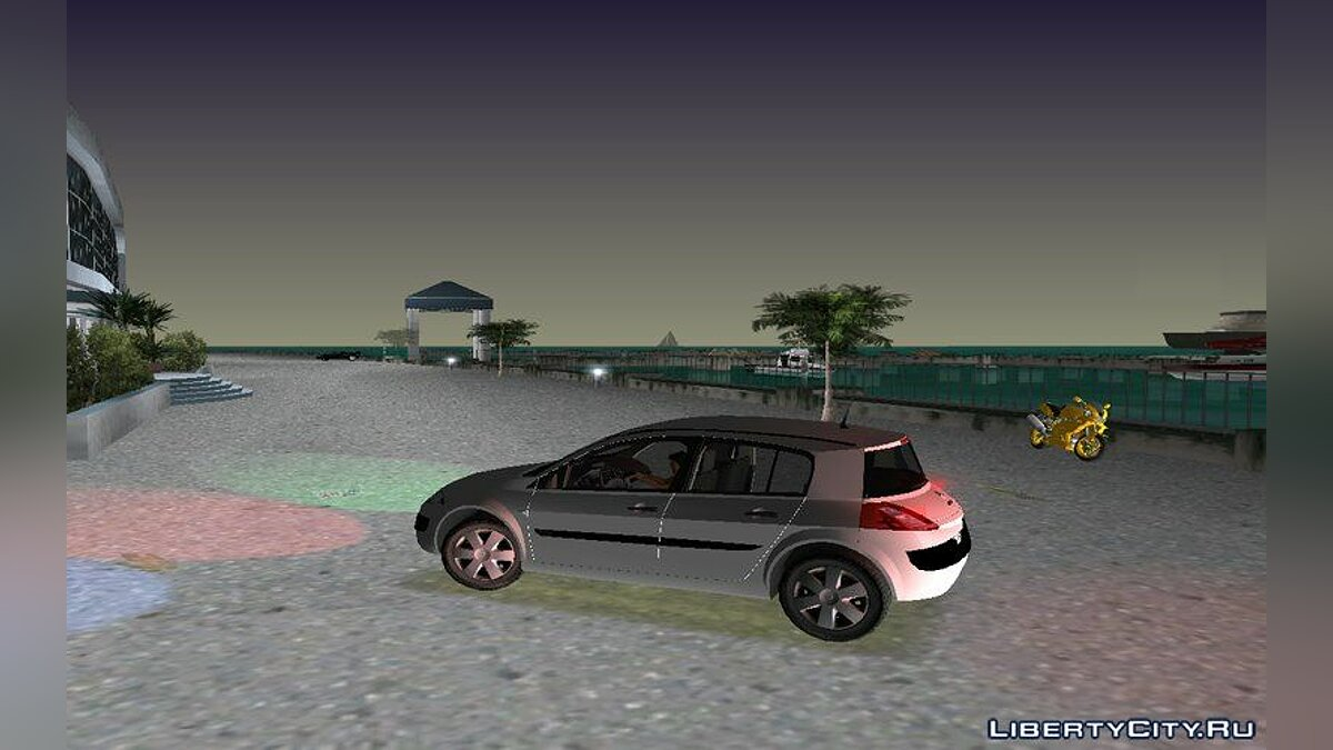 Renault Megane для GTA Vice City