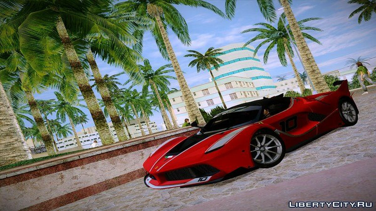 2016 Ferrari FXX-K для GTA Vice City
