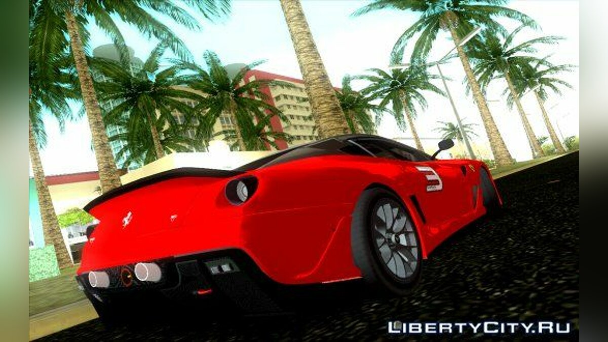 Ferrari 599 XX для GTA Vice City