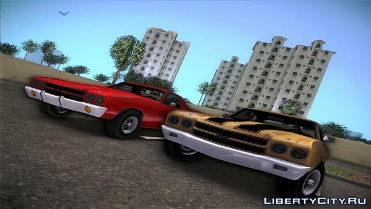 Chevrolet Chevelle SS для GTA Vice City