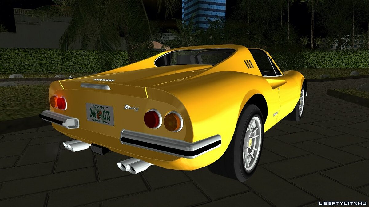 Ferrari 246 Dino GTS '1972 для GTA Vice City - скриншот #3